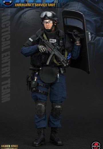 SoldierStory SS100 纽约市警局 TACTICAL ENTRY TEAM   Hpoi手办维基