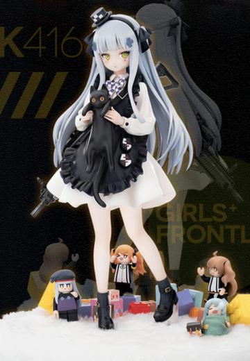 少女前线 HK416 黑猫的赠礼Ver.   Hpoi手办维基
