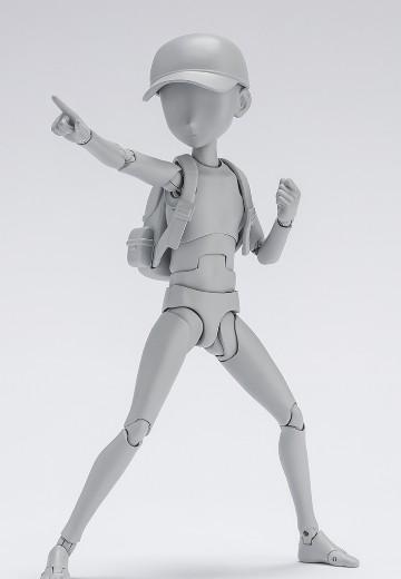S.H.Figuarts Body君 -杉森建- 豪华套装版 (灰色)