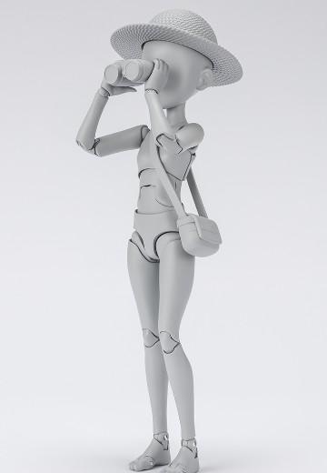S.H.Figuarts Body酱 -杉森建- 豪华套装版 (灰色)