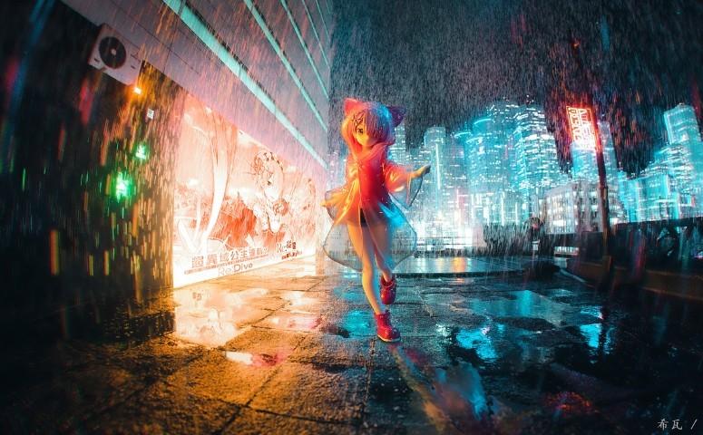 sega 超级景品 拉姆 雨季 赛博朋克ver.