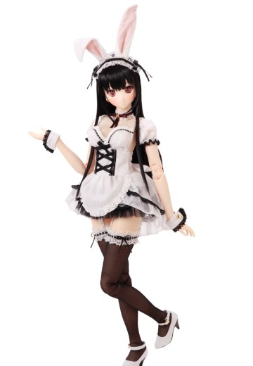 艾莉丝收集 紫罗兰/月夜的兔子女仆搭配套装 (娃娃展·Azone商城限定贩售ver.)