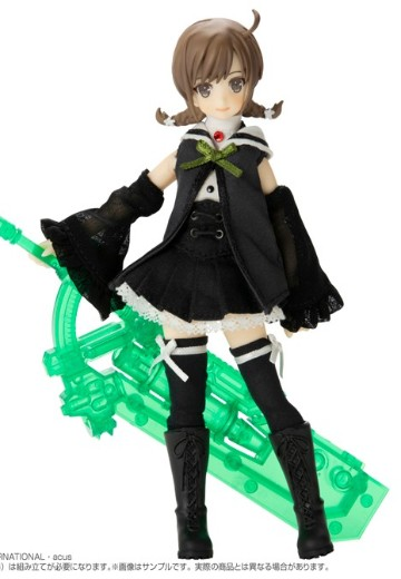 Assault Lily系列 No.060 Assault Lily 六角汐里 version2.0 塑料装甲样式