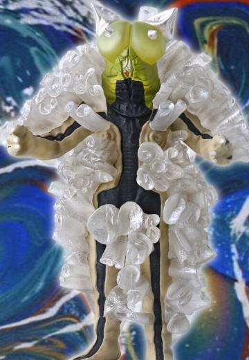 奥特大怪兽系列5000 赛文奥特曼 普拉奇克星人
