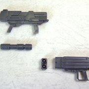 M.S.G モデリングサポートグッズ ウェポンユニット MW04R マシンガン・ミサイル兰琪ャー