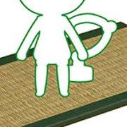 黏土人もあ 榻榻米 绿