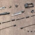 M.S.G 模型改造工具 武器部件 11 三叉戟矛