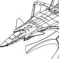 No.: 81902 200mm飞机 中国空军 J-20 威龙 隐形战斗机-简装版