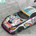 1/64 初音未来 GT企划 Good Smile 初音未来 AMG 2016 SUPER GT ver.