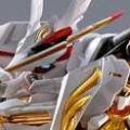 METAL BUILD 机动战士高达SEED ASTRAY 天空的皇女 MBF-P01-Re3 异端高达金色机 天哈娜