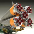 Moderoid 联盟号运载火箭+搬运列车