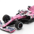 S6485 BWT RACING POINT RP20 NO.11 BWT RACING POINT F1 TEAM WINNER SAKHIR GP 2020 SERGIO PEREZ WITH PIT BOARD