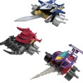 SMP [食玩模型企划] 激斗战车 第一战-EX1 霹雳神鹰 & 战斗狂牛 & 旋风幻影 套装