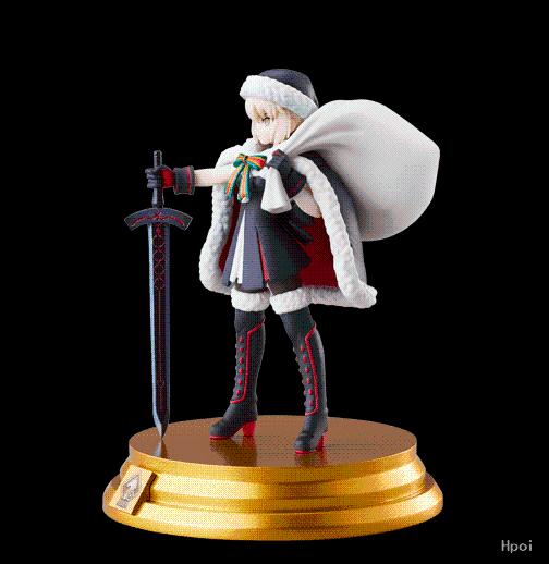 Fate/Grand Order 决斗收藏手办 Fate/Grand Order Saber Santa Alter