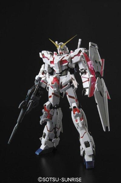 MG 1/100 独角兽高达 HD配色+MS CAGE