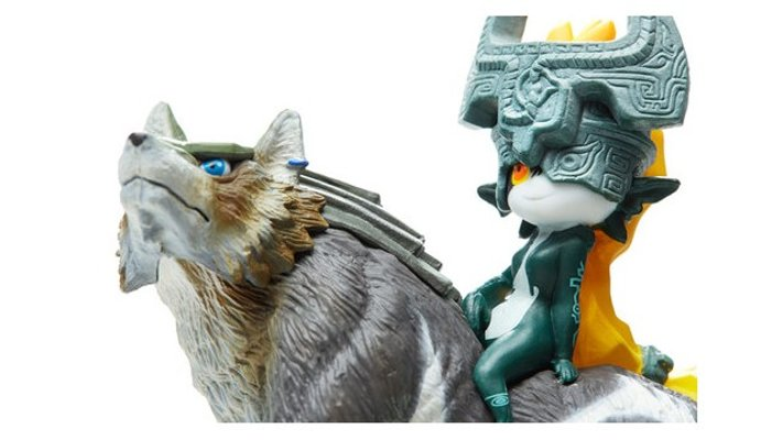 amiibo 萨尔达传说 トワイライト公主 ミドナ&狼林克