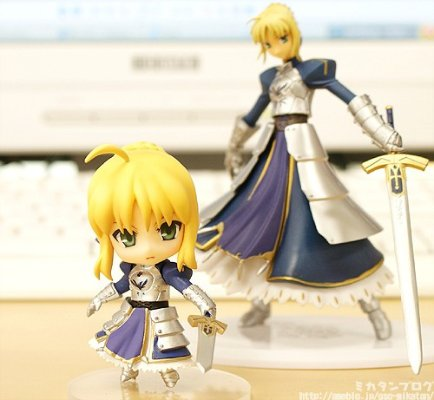 Fate/stay night Trading Figures Fate/Stay Night SABER