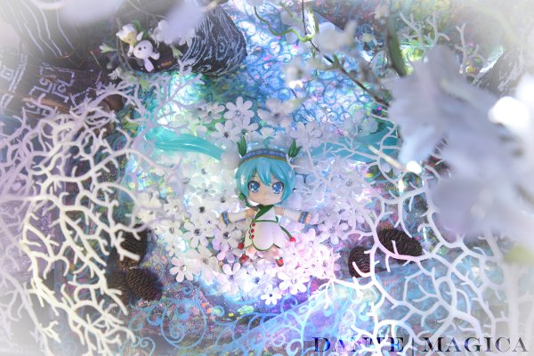 黏土人 #493 雪初音 2015 Snow Bell Ver.