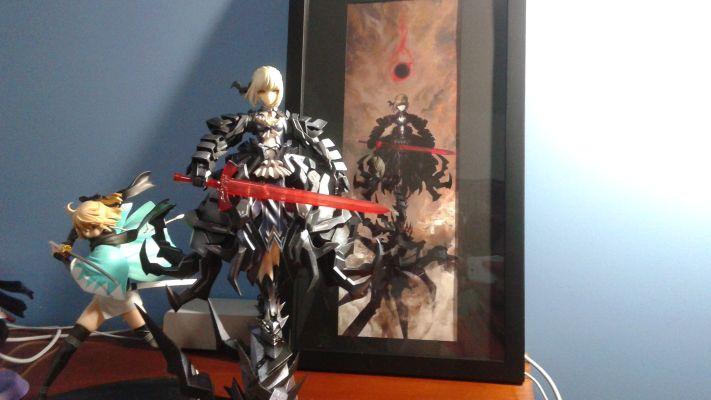 Fate/Stay Night Saber huke