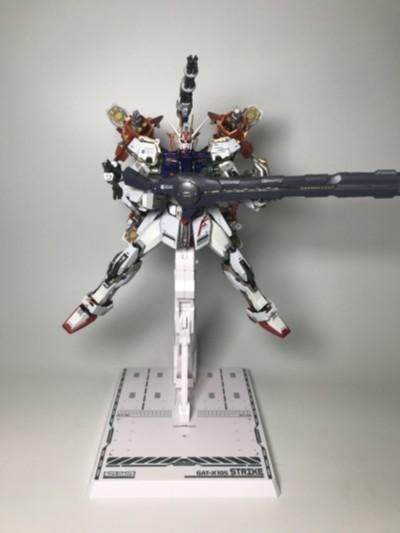 METAL BUILD 机动战士高达SEED GAT-X105+AQM/E-X01 翔翼型强袭高达