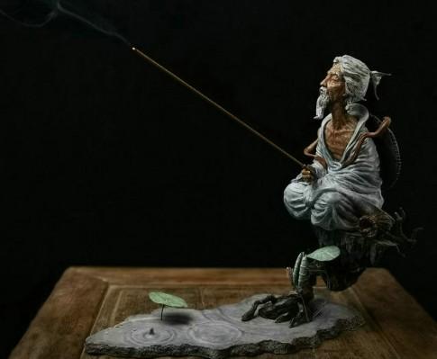 FaceFunky Studio《太公望》 中国风 封神榜 铸铜版