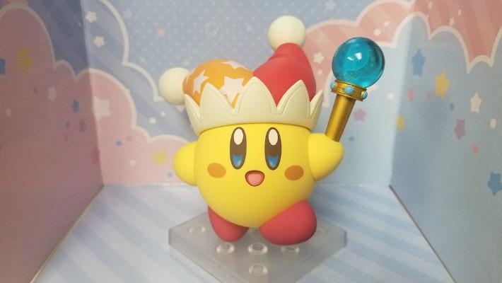 黏土人#1055 星之卡比 Beam Kirby