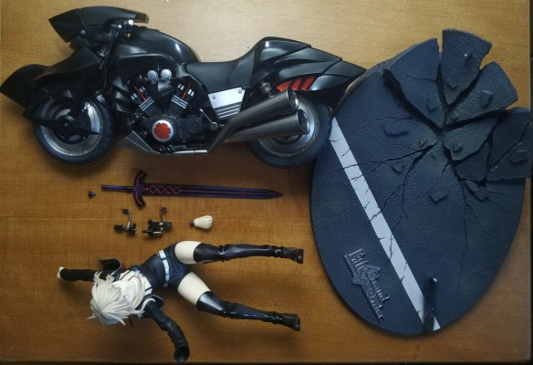 Fate / Grand Order Saber[Alter] &&Cuirassier Noir