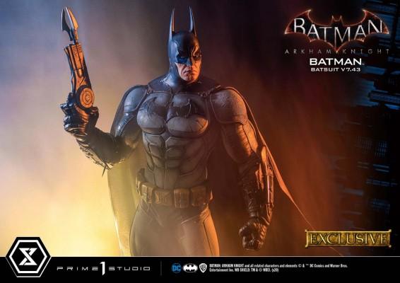 MMDC-45EX  蝙蝠侠:阿卡姆骑士 蝙蝠侠 V 7.43 战衣 EX版
