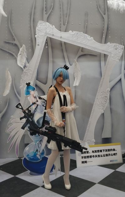 少女前线 Zas M21 白棋皇后ver. WF2020上海特别版